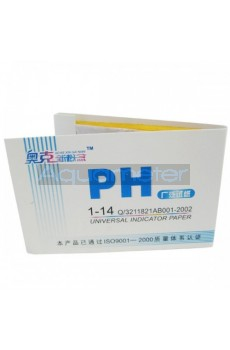 Лакмусовая бумага PH, тест-полоски с точностью 1.0 РН
